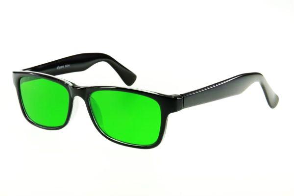 Очки глаукомные корригирующие Vizzini 9054 (стекло)