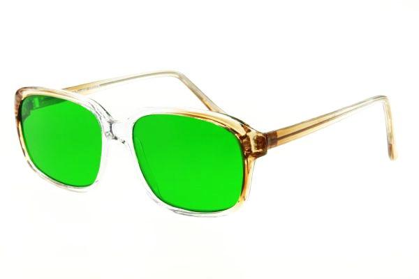 Очки глаукомные корригирующие Vizzini V0003 (стекло)