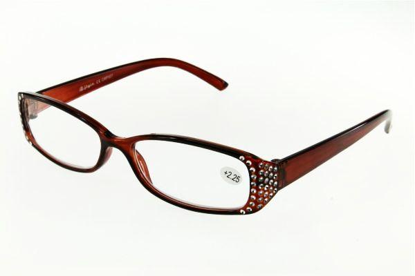 """очки готовые """"Airstyle"""" CRP 507 (пластик) коричневый"""