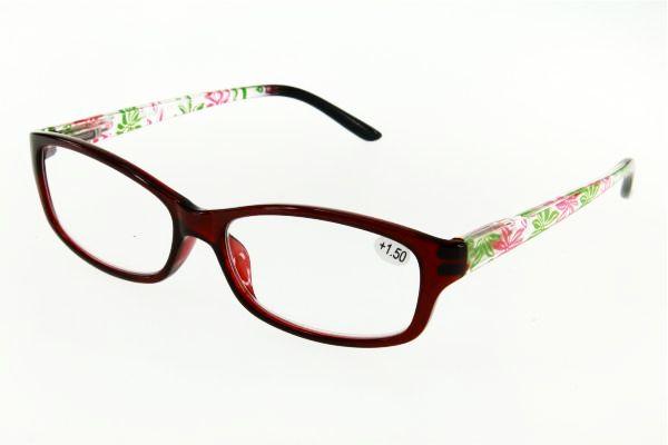 "очки готовые ""Airstyle"" CRP 527 (пластик) бордо"