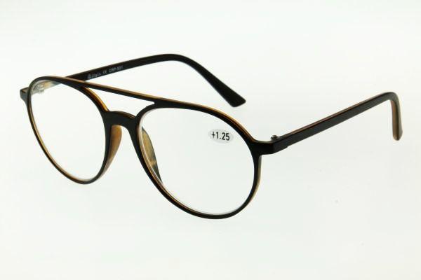 """очки готовые """"Airstyle"""" CRP 531 (пластик) коричневый"""