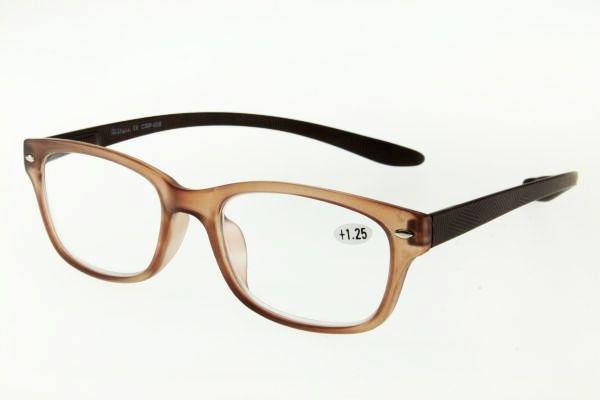 """очки готовые """"Airstyle"""" CRP 608 (пластик) коричневый"""