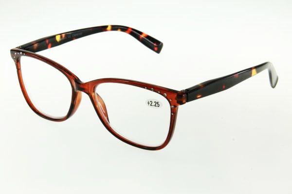 """очки готовые """"Airstyle"""" CRP 6120 (пластик) коричневый"""