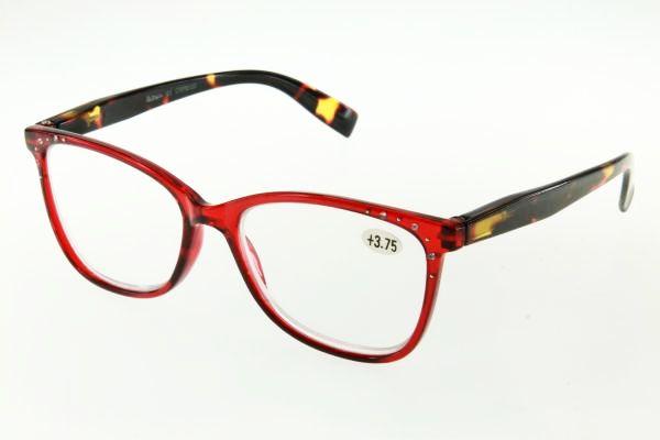 """очки готовые """"Airstyle"""" CRP 6120 (пластик) красный"""