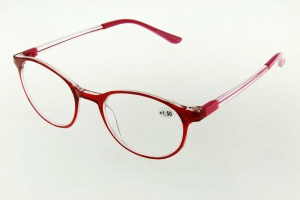 """очки готовые """"Airstyle"""" KC-170 (пластик) красный"""