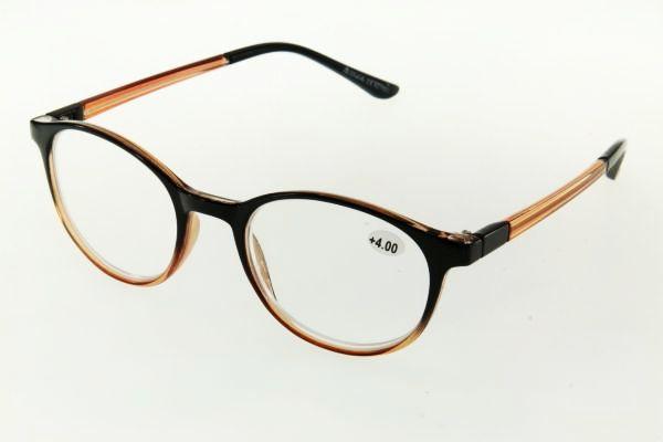 """очки готовые """"Airstyle"""" KC-17021 (пластик) коричневый"""
