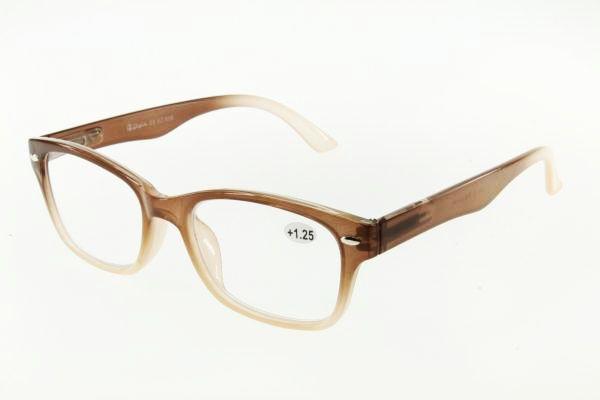 """очки готовые """"Airstyle"""" KC-939 (пластик) коричневый"""