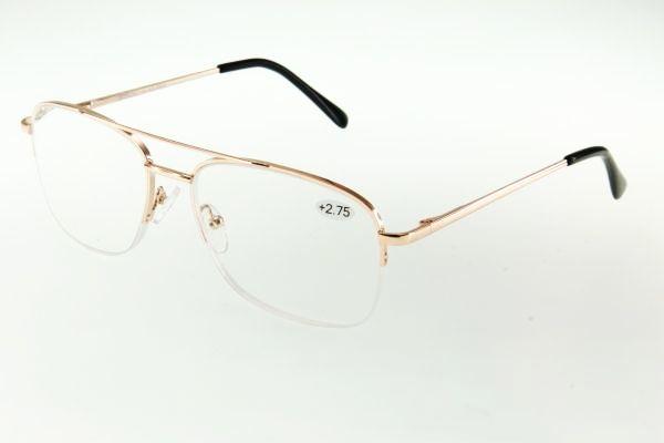"""очки готовые """"Airstyle"""" KC-9540 (металл) золото"""