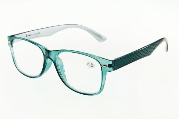 """очки готовые """"Airstyle"""" KC-962 (пластик) голубой"""