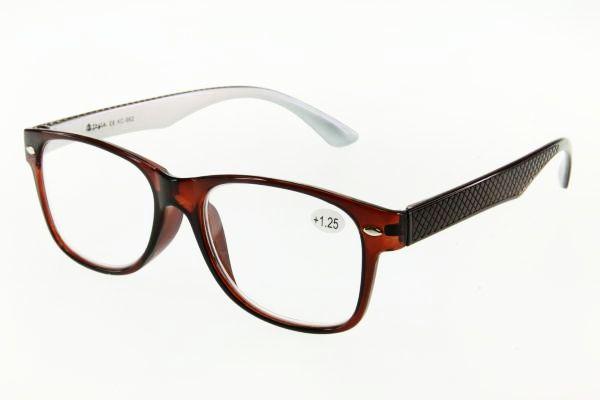 """очки готовые """"Airstyle"""" KC-962 (пластик) коричневый"""