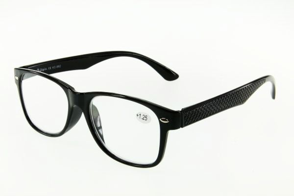 """очки готовые """"Airstyle"""" KC-962 (пластик) черный"""