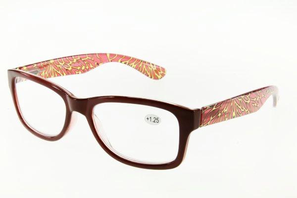 """очки готовые """"Airstyle"""" KC-967 (пластик) коричневый"""