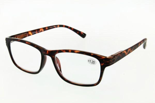 """очки готовые """"Airstyle"""" KC-998 (пластик) коричневый"""