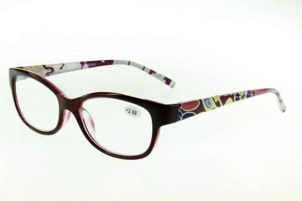"""очки готовые """"Airstyle"""" LR-P 2656 (пластик) пурпурный"""