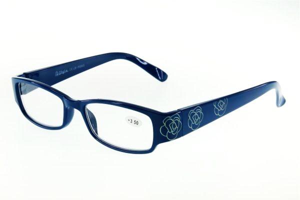 """очки готовые """"Airstyle"""" LR-P 2843 (пластик) голубой"""