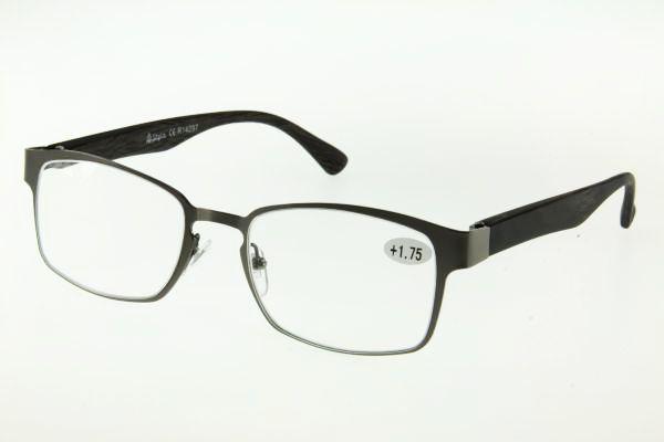 """очки готовые """"Airstyle"""" R14297 (пл/металл) серый"""