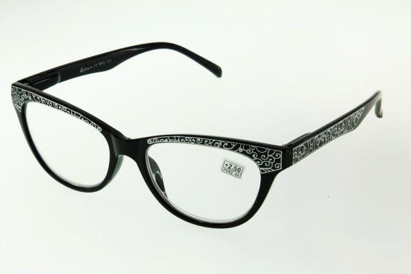 """очки готовые """"Airstyle"""" RFC 121 (пластик) черный"""