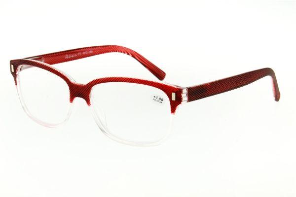 """очки готовые """"Airstyle"""" RFC-166 красный (пластик)"""