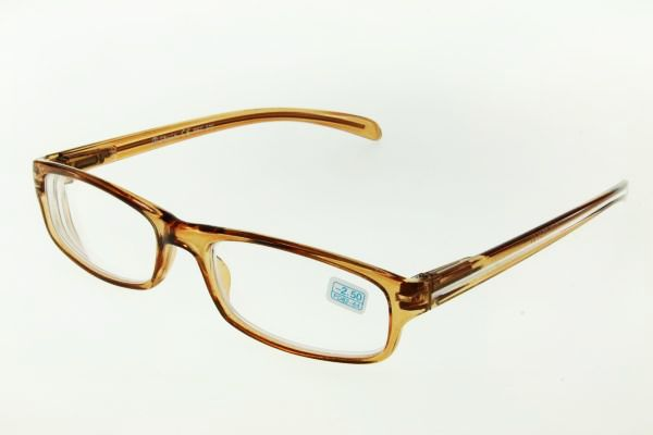 """очки готовые """"Airstyle"""" RFC 270 (пластик) коричневый"""