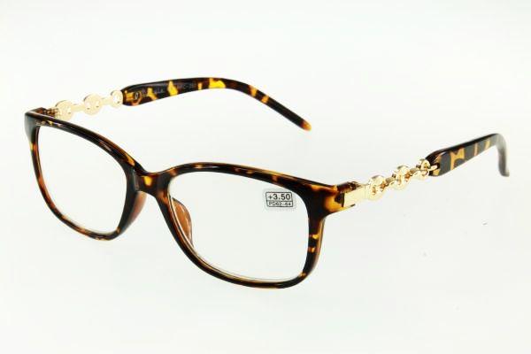 """очки готовые """"Airstyle"""" RFC 280 (пластик) коричневый"""