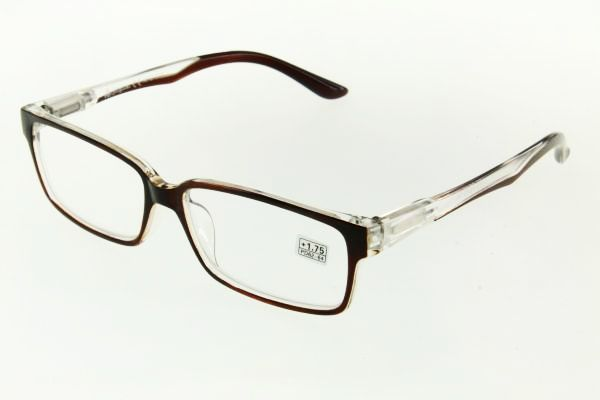 """очки готовые """"Airstyle"""" RFC 377 (пластик) коричневый"""