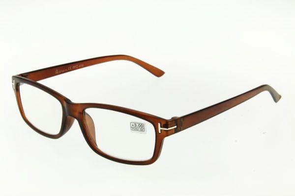 """очки готовые """"Airstyle"""" RFC 414 (пластик) коричневый"""