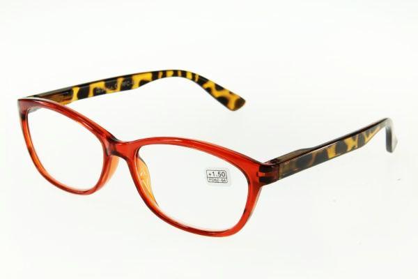 """очки готовые """"Airstyle"""" RFC 440 (пластик) коричневый"""