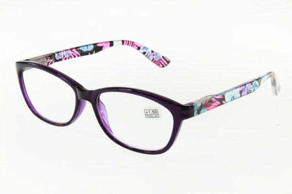 """очки готовые """"Airstyle"""" RFC 440 (пластик) фиолетовый"""