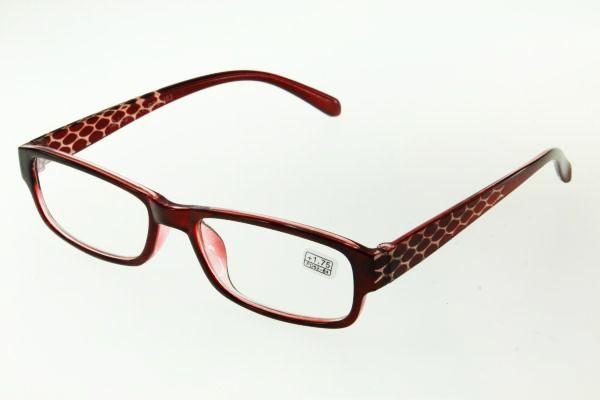 "очки готовые ""Airstyle"" RFC 463 (пластик) бордо"