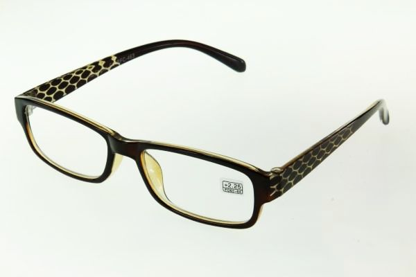 """очки готовые """"Airstyle"""" RFC 463 (пластик) коричневый"""