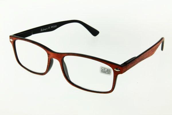"""очки готовые """"Airstyle"""" RFC 520 (пластик) коричневый"""