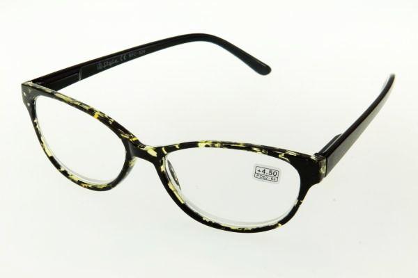 """очки готовые """"Airstyle"""" RFC 524 (пластик) желто/черный"""