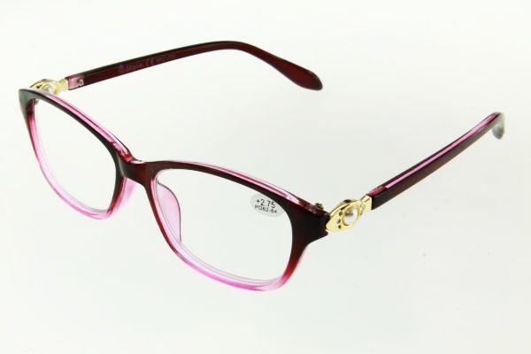 "очки готовые ""Airstyle"" RFC 725 (пластик) бордо"