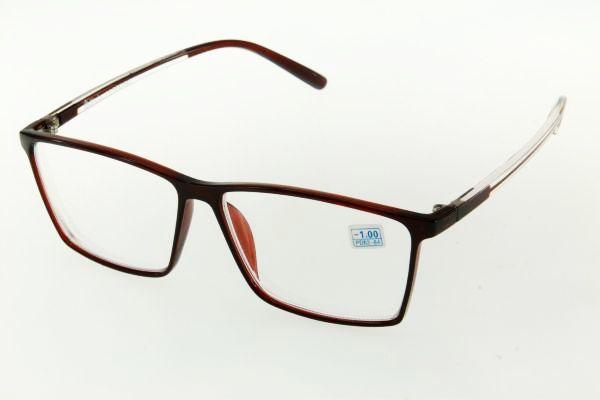 """очки готовые """"Airstyle"""" RFC 742 (пластик) коричневый"""