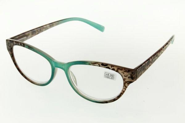 """очки готовые """"Airstyle"""" RFC 757 (пластик) зелёный"""