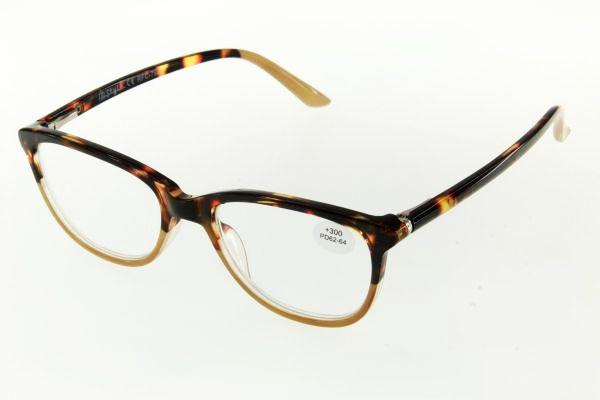 """очки готовые """"Airstyle"""" RFC 790 (пластик) коричневый"""