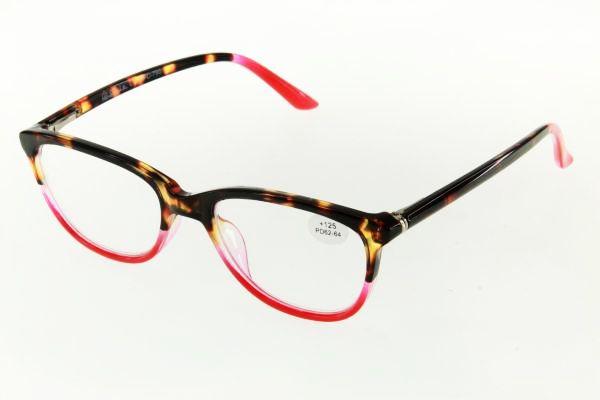 """очки готовые """"Airstyle"""" RFC 790 (пластик) красный"""