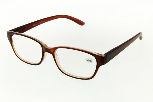"""очки готовые """"Airstyle"""" RFC 823 (пластик) коричневый"""