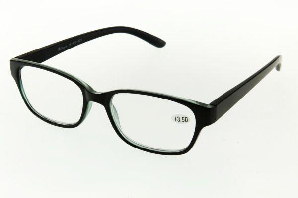 """очки готовые """"Airstyle"""" RFC 823 (пластик) черный"""