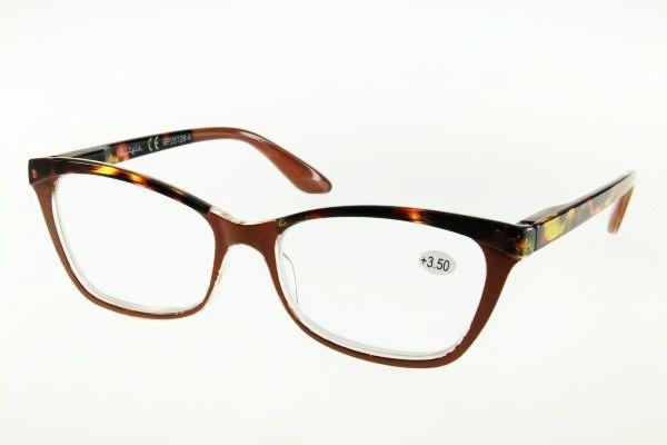 """очки готовые """"Airstyle"""" RP25128-4 (пластик) коричневый"""