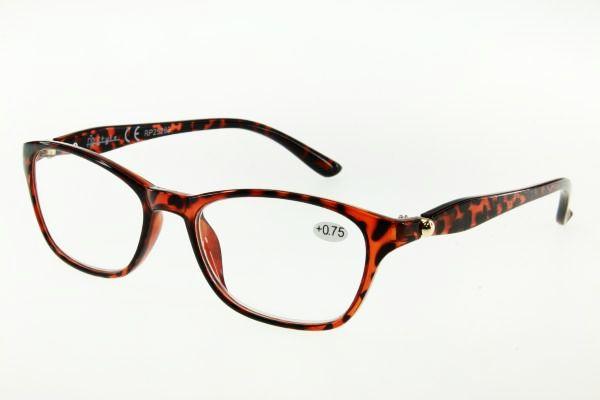 """очки готовые """"Airstyle"""" RP25263 (пластик) коричневый"""