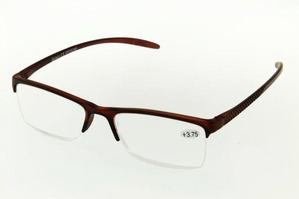 """очки готовые """"Airstyle"""" RP25295 (пластик) коричневый"""