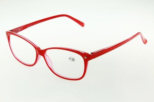 "очки готовые ""Airstyle"" RP2782 (пластик) красный"