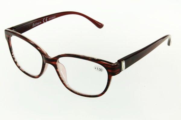 """очки готовые """"Airstyle"""" RP2800 (пластик) коричневый"""