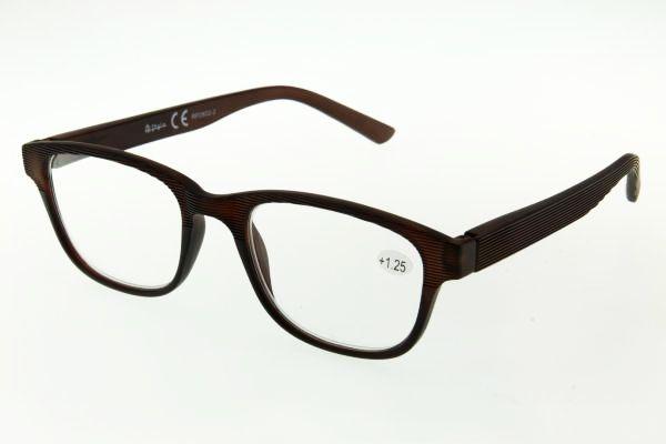 """очки готовые """"Airstyle"""" RP2802-2 (пластик) коричневый"""