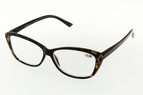 """очки готовые """"Airstyle"""" RP2982 (пластик) коричневый"""