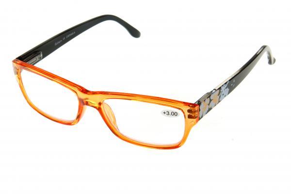 """очки готовые """"Airstyle"""" CRP 540-4 (пластик) оранжевый"""