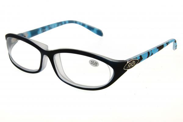 """очки готовые """"Airstyle"""" R212-1844 черно/голубой"""