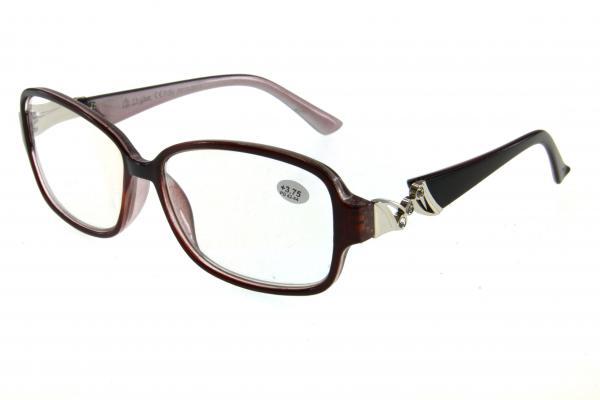 """очки готовые """"Airstyle"""" R212-2011 черно/коричневый"""