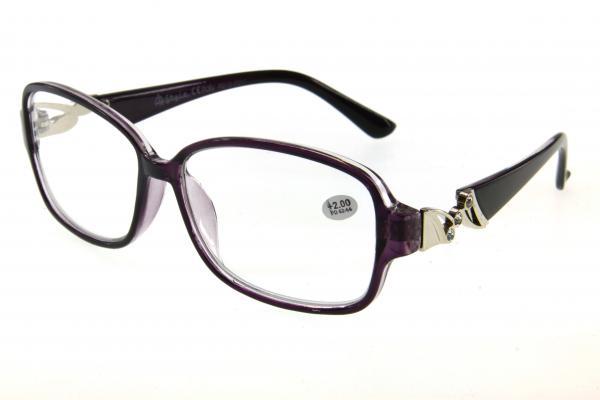 """очки готовые """"Airstyle"""" R212-2011 черно/фиолетовый"""